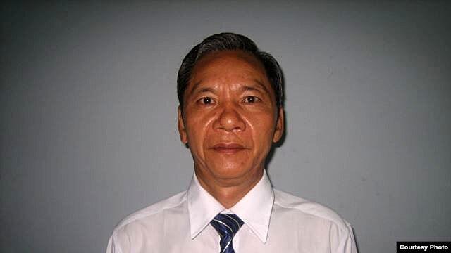 Pastor Nguyen Manh Hung of the Binh Tan Mennonite Church in Vietnam.