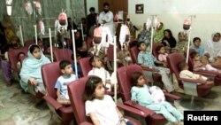 Blood transfusions in Pakistan.