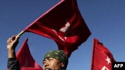پلیس نپال در اعتصاب عمومی مائوئیست ها با تظاهرکنندگان درگیر شد