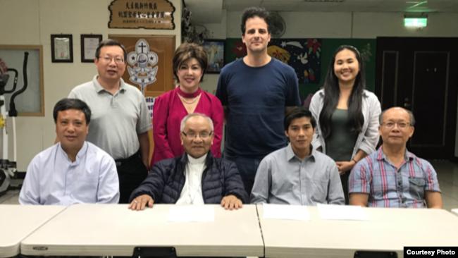 Phái đoàn đại diện cho gần 10,000 nạn nhân họp mặt hôm 10/6/2019 để chuẩn bị khởi kiện Formosa vào ngày hôm sau 11/6/2019 tại Đài Loan.