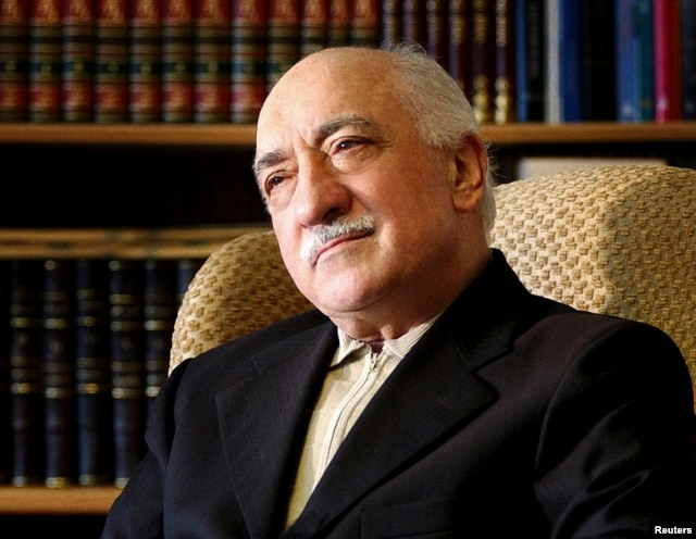 FILE - Islamic preacher Fethullah Gulen at his residence in Saylorsburg, Pennsylvania
