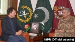 افغان سفیر کی پاکستانی فوج کے سربراہ سے ملاقات