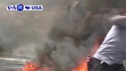Manchetes Americanas 15 Maio: 58 palestinianos foram mortos; Kilauea que continua em erupção
