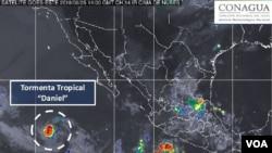Foto del Servicio Meteorológico Nacional de México.