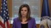 美國國務院發言人譴責國際民航組織壓制挺台言論