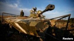 Ukrajinski tenkovi na istoku zemlje
