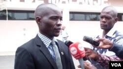 Secretário provincial da UNITA Mardanês Calunga