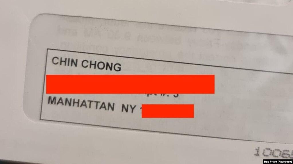 New York điều tra vụ người Việt bị 'miệt thị' là 'Chin Chong'