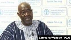 Jacob Ouédraogo, le ministre de l'agriculture à Ouagadougou, Burkina, 21 décembre 2017. (VOA/ Zoumana Wonogo)