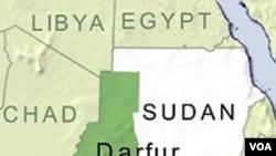 Ketiga korban sedang menumpang kendaraan di bagian selatan Darfur, ketika diculik.