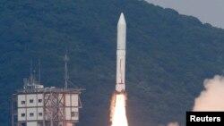 Hỏa tiễn Epsilon, loại hỏa tiễn 3 tầng sử dụng nhiên liệu đặc, đã được phóng đi ngày hôm nay (14/9/2013) từ một trung tâm không gian ở miền nam nước Nhật.