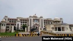 اسلام آباد میں واقع وزیرِ اعظم سیکریٹریٹ (فائل فوٹو)