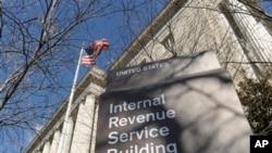 Una de las agencias cerradas es la del IRS en Washington.