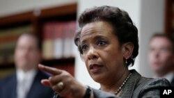 Loretta Lynch, Jaksa Amerika Serikat untuk Distrik Timur New York, dicalonkan oleh Presiden Obama untuk menggantikan Eric Holder sebagai Jaksa Agung Amerika Serikat (Foto: dok).