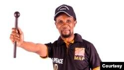 Mqondisi Moyo, leader of opposition Mthwakazi Republic Party.