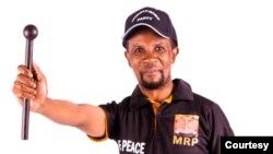 UMnu. Mqondisi Moyo, umkhokheli webandla leMthwakazi Republic Party.