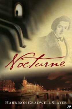 'Nocturne' comes with a CD of Chopin favorites performed by the author, to be played at specific points in the book.