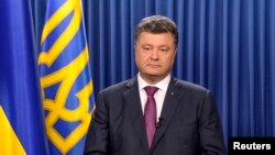 Ukrajinski predsednik Petro Porošenko rasputio parlament, 25. avgust 2014.