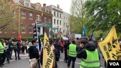 DC protest ဆႏၵျပပဲြ