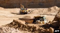 튀니지 가프사의 광산 채굴 현장. (자료사진)