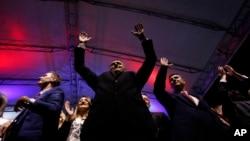 Президент Республіки Cербської Мілорад Додик на зустрічі з прихильниками