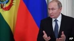 Президент России Владимир Путин. Москва, Кремль. 11 июля 2019 г.