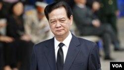 ນາຍົກລັດຖະມົນຕີ ຫວຽດນາມ ທ່ານ Nguyen Tan Dung