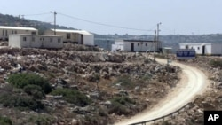View of the Nof Kaneh outpost of the Jewish West Bank settlement of Karnei Shomron (File)