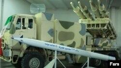 راکت فجر ۵ سپاه پاسداران