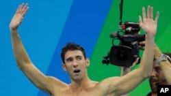 شاید آخرین حضور فلپس در کنار حوض آببازی المپیک
