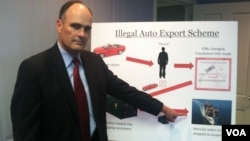 Seorang jaksa AS menerangkan modus pencurian mobil dan eskpor mobil curian ke luar Amerika (foto: ilustrasi).