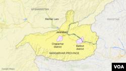 Batikot and Chaparhar districts, Nangarhar province, Afghanistan