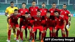یازده بازیکن نخست افغانستان در برابر مالدیف