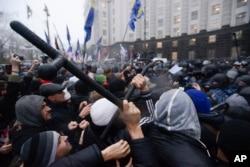 Người biểu tình tại Ukraina