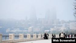 Bakıda toz dumanı gözlənir
