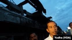 FILE - Indonesian President Joko Widodo.