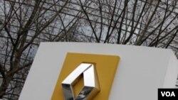 Kantor pusat Renault di Boulogne-Billancourt, Paris, Perancis.