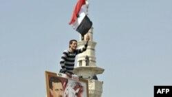 Проправительственные демонстрации в Сирии