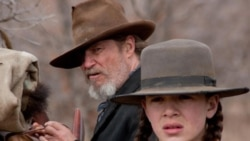 "Jeff Bridges and Hailee Steinfeld in ""True Grit"""