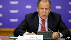 """El secretario de RR.EE. ruso, Sergei Ryabkov, culpó a """"estados de ánimo anti-rusos"""" en Washington por el proyecto de ley que autoriza ayuda militar a Kiev."""
