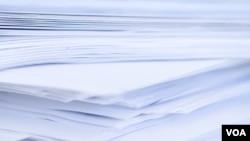 El objetivo es minimizar el uso de papelería como una forma de aportar a la protección ambiental.