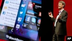 Президент Blackberry Торстен Хейнс