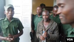 FILE: Former Zanu PF Mashonaland West provincial chairman and lawmaker, Temba Peter Mliswa, appeared Monday before a Chinhoyi magistrate facing charges of allegedly stealing firearms. (Photo: Arthur Chigoriwa)