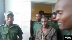 FILE: Former Zanu PF Mashonaland West provincial chairman and lawmaker, Temba Peter Mliswa, appearing before a Chinhoyi magistrate facing charges of allegedly stealing firearms. (Photo: Arthur Chigoriwa)