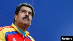 Presiden Venezuela Nicolas Maduro di Istana Miraflores, Caracas (Foto: dok).