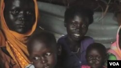 苏丹难民(视频截图)