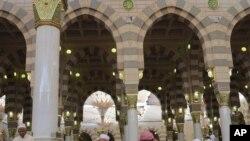 사우디아라비아 성지 메디나를 찾은 성지 순례자들 (관련사진)