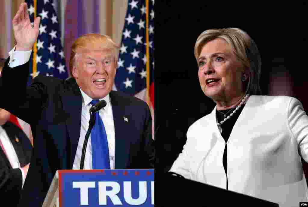 امریکہ میں صدارتی امیدوار کے لیے ڈیموکریٹ اور ریبپلکن جماعتوں کی طرف سے نامزدگی حاصل کرنے کے لیے کوشاں امیدواروں کے لیے منگل کو اہم مقابلہ ہوا۔