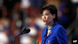 """Depite demokrat Eta Kalifòni, Judy Chu, ki di li pap vote """"pou okenn depans pwovizwa"""" ki pa apiye pwogram DACA a."""
