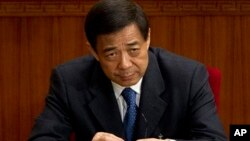 薄熙來(2012年3月11日資料照片)